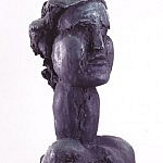 Head of Young Girl | Bronze | 20 x 10 x 10 inches | 1960-61